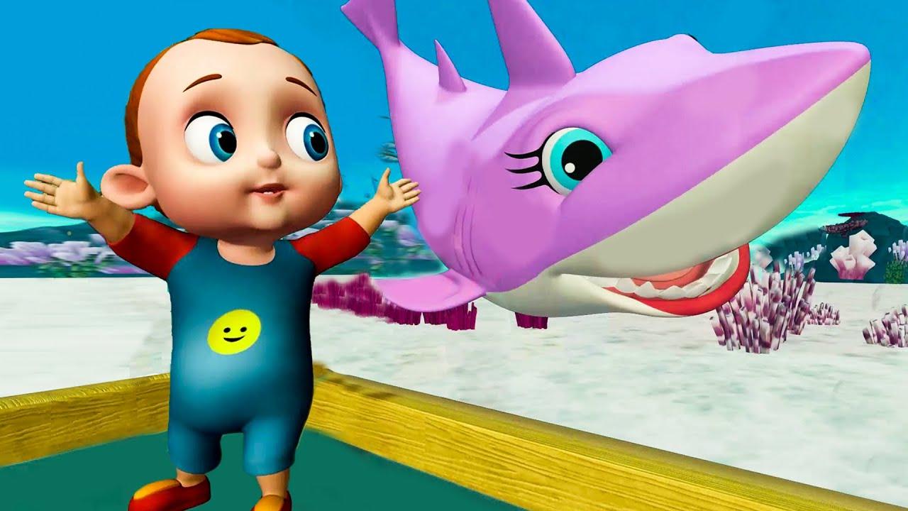 Baby Shark Aquarium Song |Shark Finger Family Dooo Dooo+ More Nursery Rhymes & Kids Song |Baby Songs