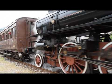 Treno storico Varallo - Novara - Milano C.le in partenza da Varallo (VC) - 30/04/2017