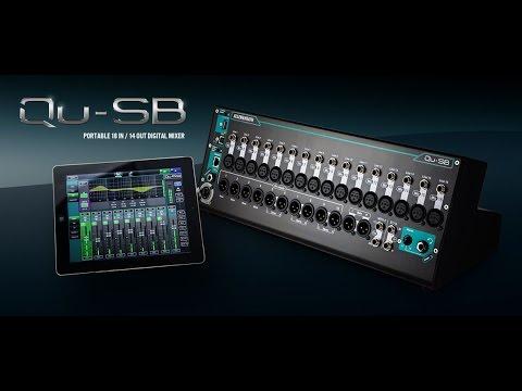 Allen & Heath Qu-SB Remotely Controlled Digital Mixer