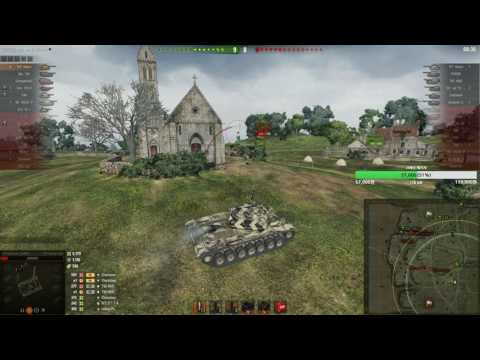 [World of Tanks] 미국 10티어 중전차 T57 Heavy Tank Ace Tanker 클립충입니다 (Overlord)