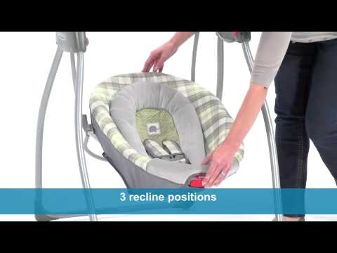 Graco Comfy Cove LX Swing