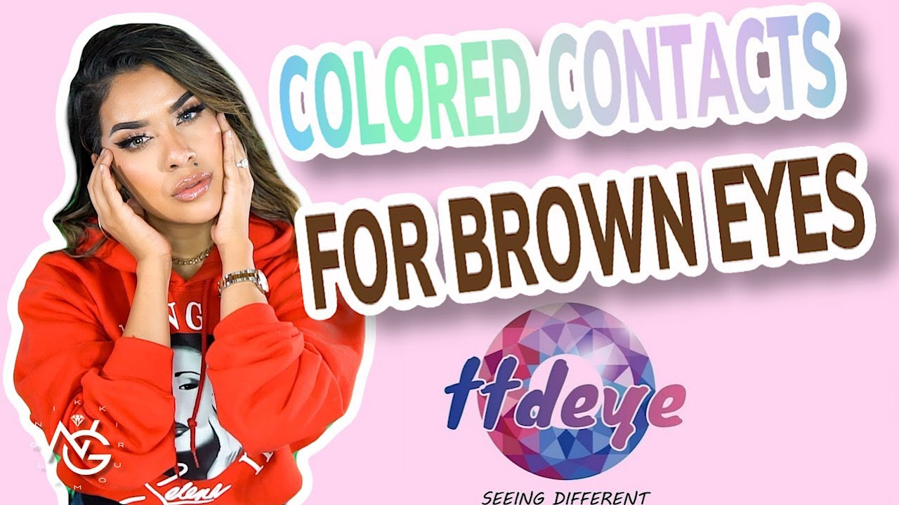 Contacts for Dark Brown Eyes | Try On Haul