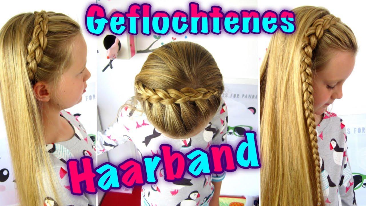 ♥geflochtenes Haarband Teil 1 ♥ Halber Holländischer Zopf
