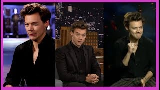 Funny interview moments with Harry Styles Part 2