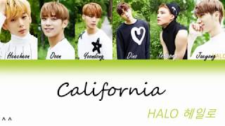 Halo(헤일로) -California Lyrics