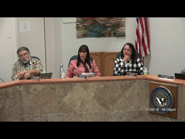 Cottonwood City Council regular meeting Nov 6 2018