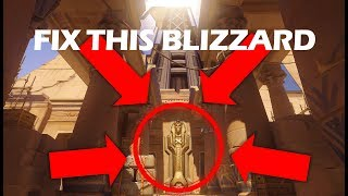 HOW TO GET OUT OF THE MAP IN COMPETITIVE: Temple of Anubis Glitch Spot!!!