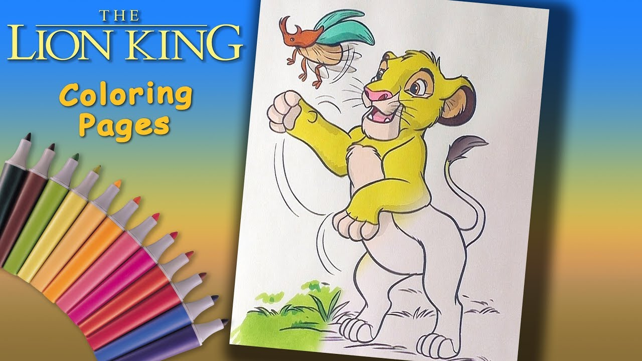 The lion king - simba coloring pages - Hellokids.com | 720x1280