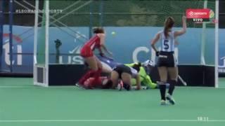 Argentina vs Chile Copa Panamericana 2017 Q1