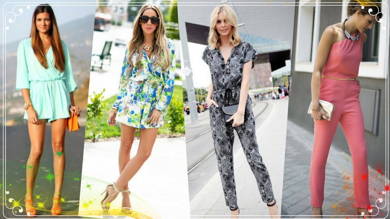 Hot Fashion Trend | jumpsuits and Rompers outfits for women 2018 6