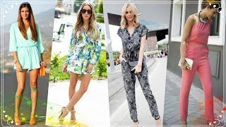 Hot Fashion Trend | jumpsuits and Rompers outfits for women 2018