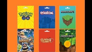 Como Ganha Gift Card Gratis( roblox , clash royale , clash of clans , pokemon GO etc) - PointsPrizes