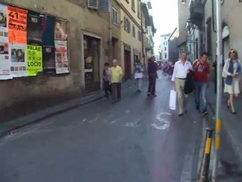 Vacation in Florence Italy - City Streets