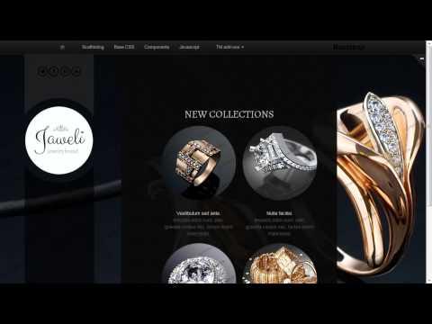 Jewelry Website Template