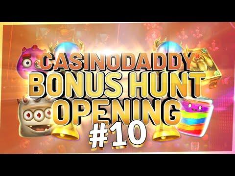 €11000 Bonushunt -  Casino Bonus Opening From Casinodaddy LIVE Stream #10