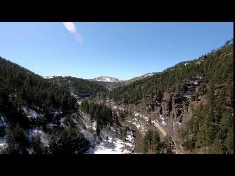 Black Hills AVP:  Aerial Shot in the canyon
