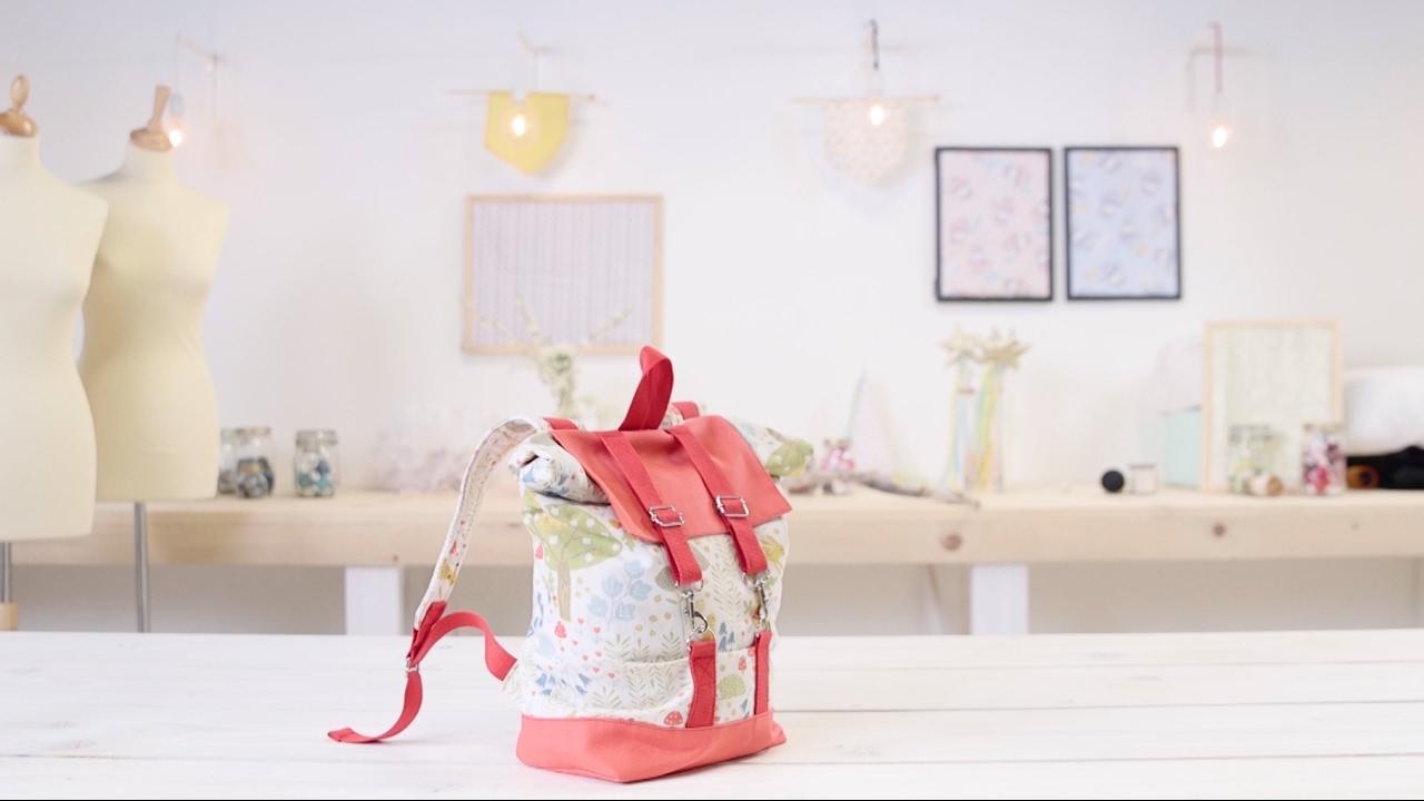 comment coudre un sac dos pour enfant youtube