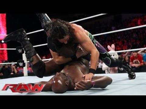 Adam Rose vs. Titus O'Neil: Raw, Sept. 1, 2014