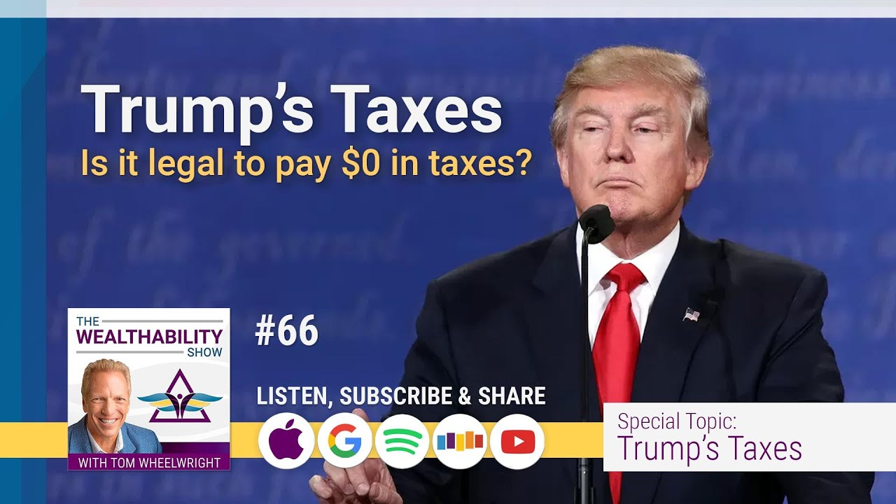 TRUMP'S TAXES - Is It Ilegal To Pay $0 Taxes?
