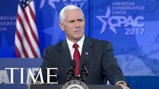 Vice President Mike Pence Speaks At CPAC 2018: