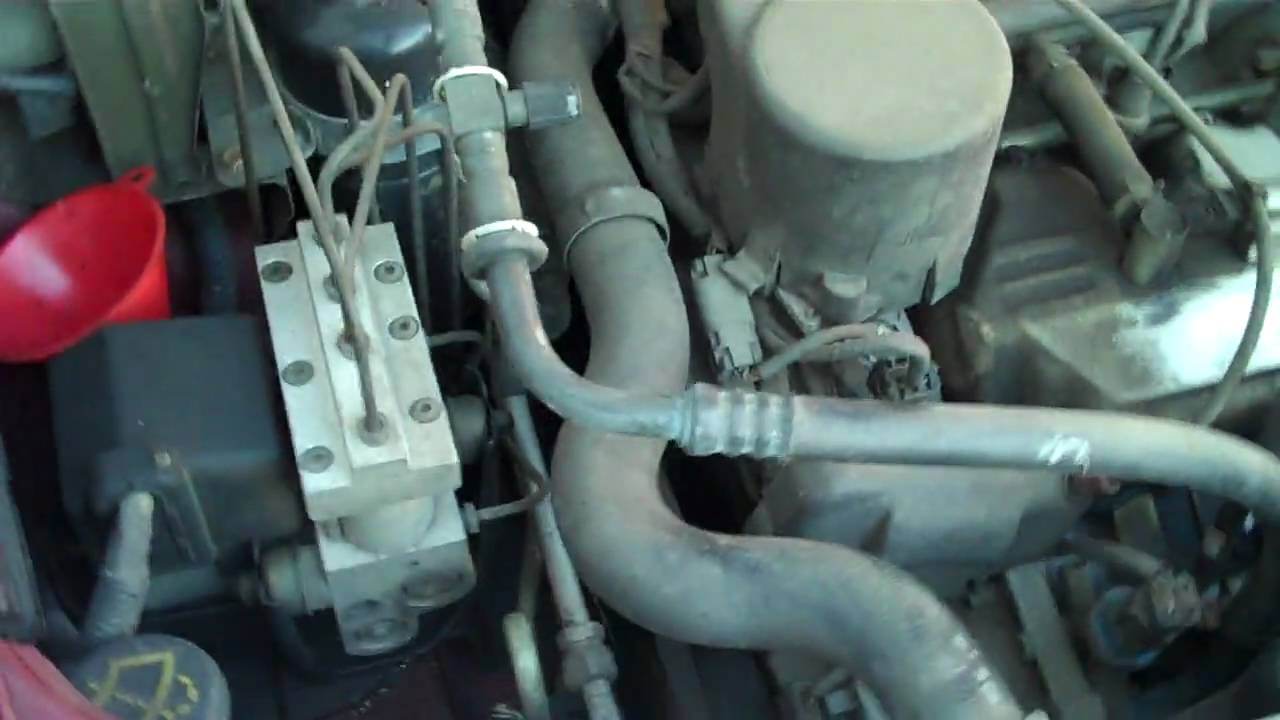 94 Nissan Quest Fuel Filter Wiring Diagram Libraries 1997 Mercury Villager Minivan Youtube94 17