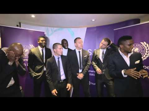 Chelsea FC Players promoting Human Appeal Charity and Chak89.