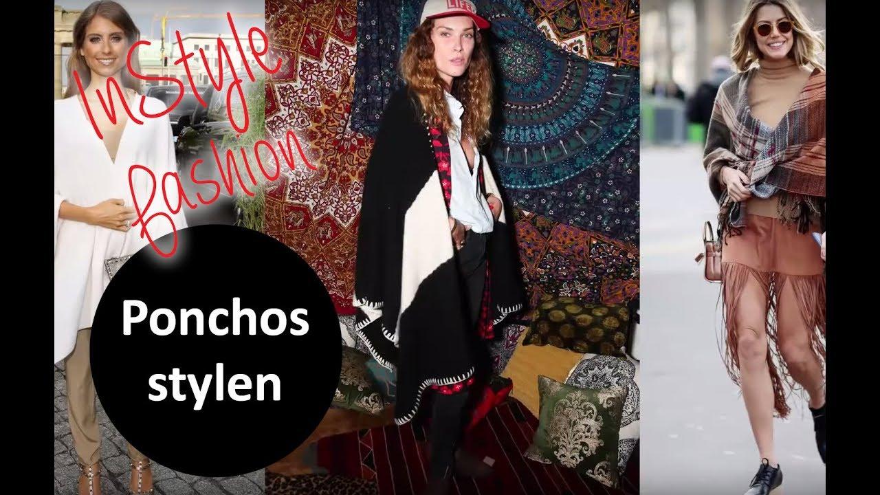 Poncho mit kleid kombinieren
