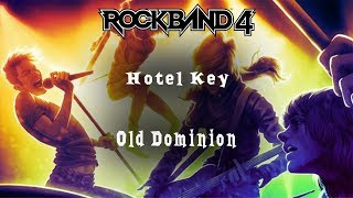 Rock Band 4 ~ Hotel Key by Old Dominion ~ Expert ~ Full Band Video