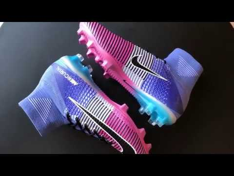 f9a0c82fdeb8 First Look  Unboxing Nike Mercurial Superfly V FG Multi-Color - YouTube