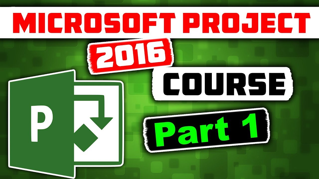 Microsoft Project Video Training Series