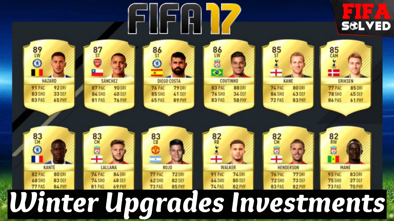 fifa 17 winter upgrades investments trading tips youtube. Black Bedroom Furniture Sets. Home Design Ideas