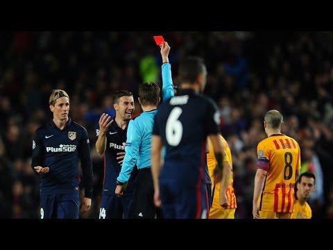 Barcelona vs Atlético 2-1 Champions League 05/04/2016 Highlights & Goals 2 1 2:1
