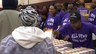 Sports and Entertainment stars team up for All-star giveback