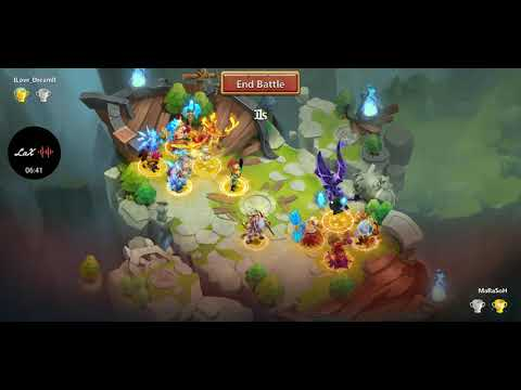Castle Clash Top 40 Lost Battlefield Main Account