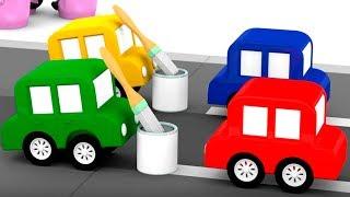 4 МАШИНКИ. Мультики для детей: #4машинки и авария на дороге. Мультики про #машинки все серии подряд