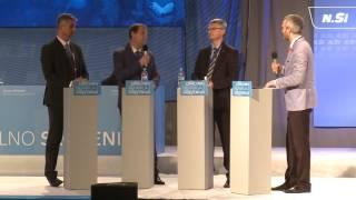 Kongresni pogovor »Gradimo normalno Slovenijo.«