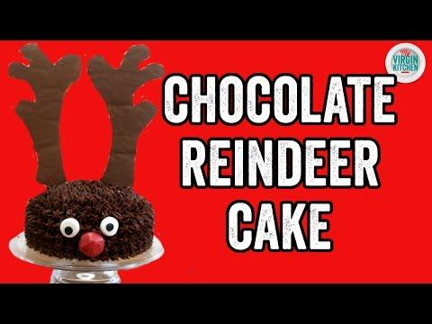 REINDEER CHOCOLATE CAKE RECIPE