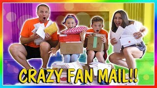 CRAZY FAN MAIL CONTEST | We Are The Davises