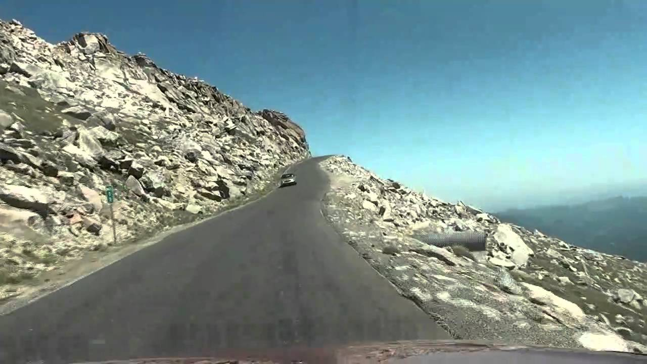 Hd Super Fast Drive Down Mt Evans 5x Normal Speed High