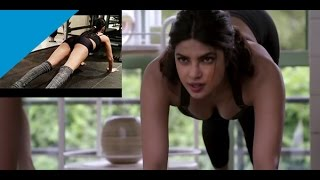Hollywood New Actress Priyanka Chopra Kisses Without Cloths Sexy-workout Video