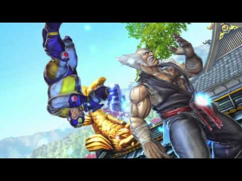 Street Fighter X Tekken - Mega Man Theme
