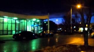 Christchurch lightning/hail storm - 4 September 2012