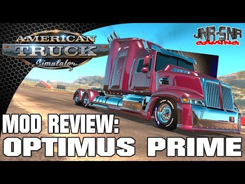American Truck Simulator Heavy truck Optimus Prime Western Star 5700 | Mod Review