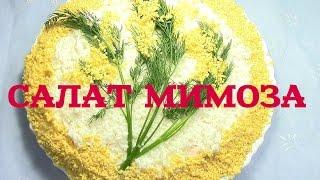 Салат Мимоза Быстро и Вкусно
