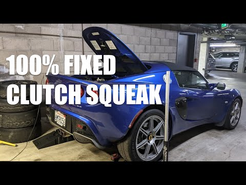 🔧 How to fix a SQUEAKY CLUTCH NOISE – Lotus Elise