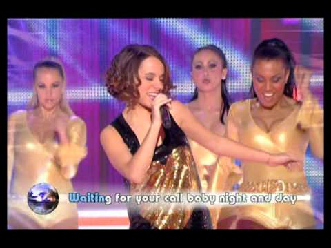 Alizee - Hung Up - Generation live - HQ w/lyrics