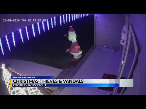 None - Highs & lows - Christmas decorations vandalized in Jacksonville