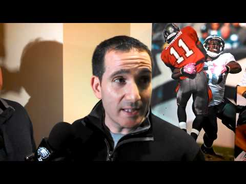 Eagles GM Howie Roseman talks about signing Connor Barwin