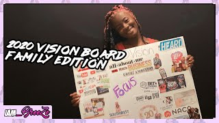 2020 Vision Board | Family Edition | New Year's Resolution | Goals