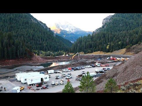 Plant Highlight: Whitaker Construction, Tibble Fork Dam - American Fork Canyon, UT